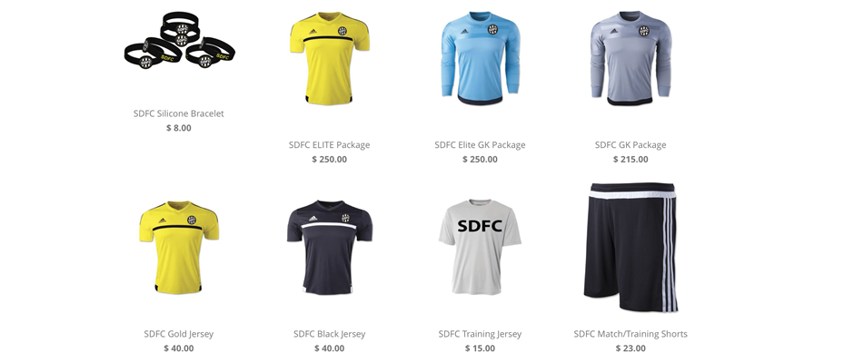 SDFC Apparel & Spirit Wear